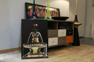 Expo/vente dans la boutique de Julie Marie Moro à Bordeaux