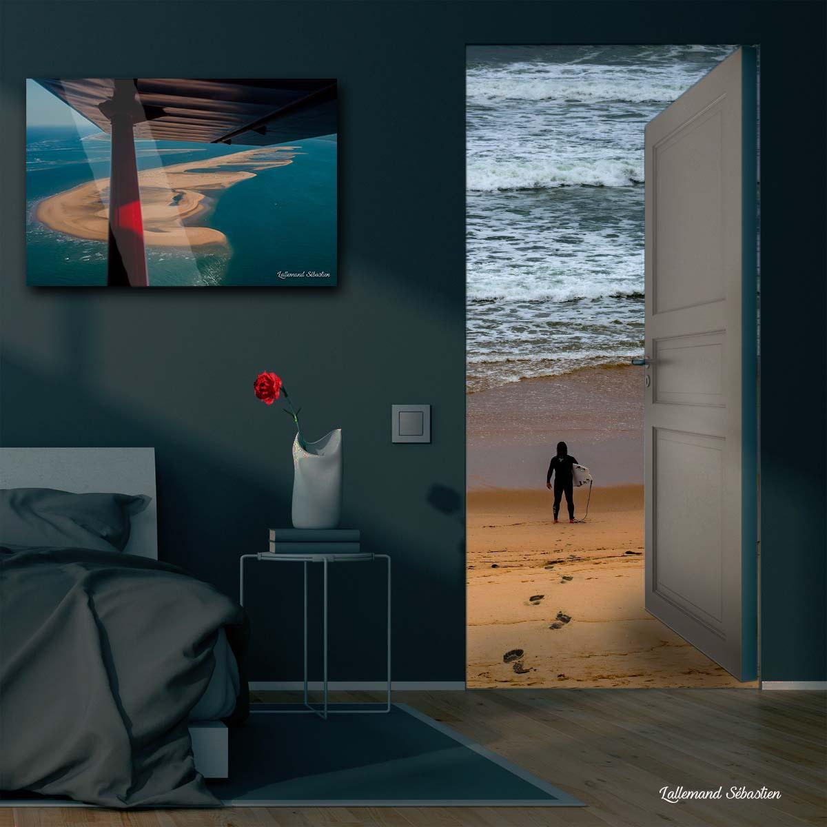 Tableau avec vue sur la mer